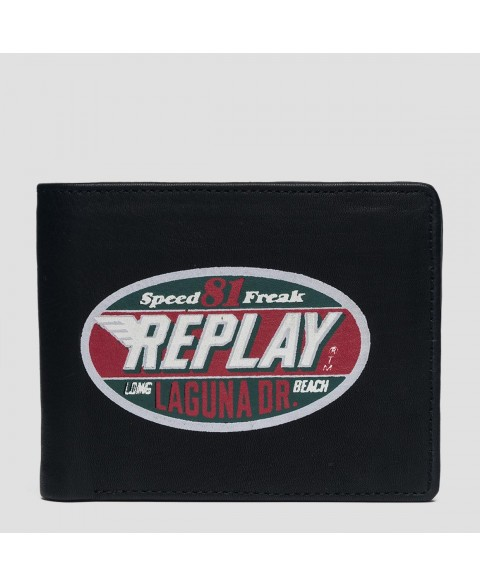 REPLAY WALLET WITH VINTAGE...