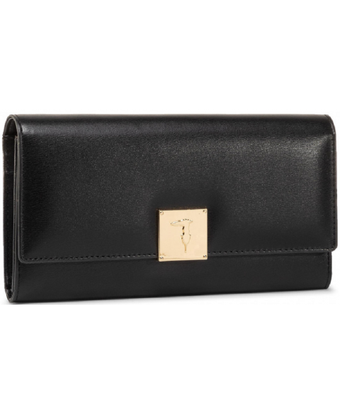 TRUSSARDI WALLET BLACK...