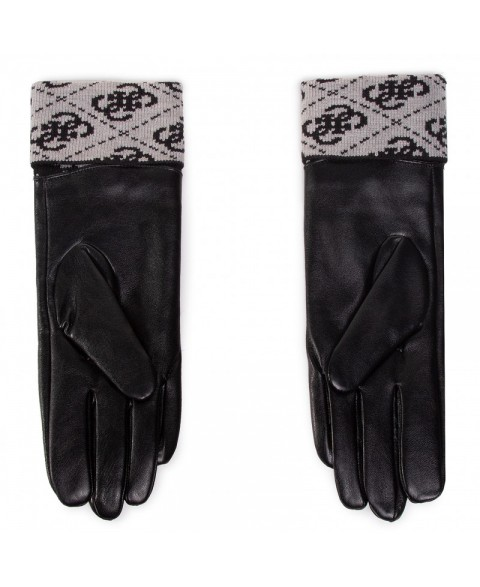GUESS VALY BLACK GLOVES...