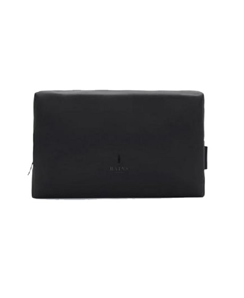 RAINS WASH BAG LARGE BLACK...