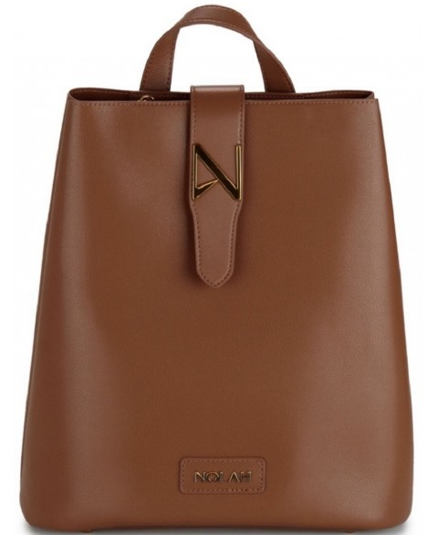 LAUREN NOLAH BROWN BACKPACK