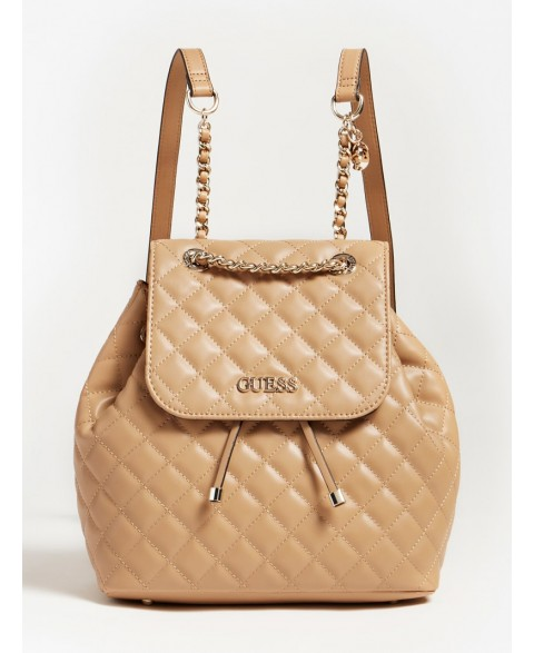 GUESS ILLY QUILTED BACKPACK...