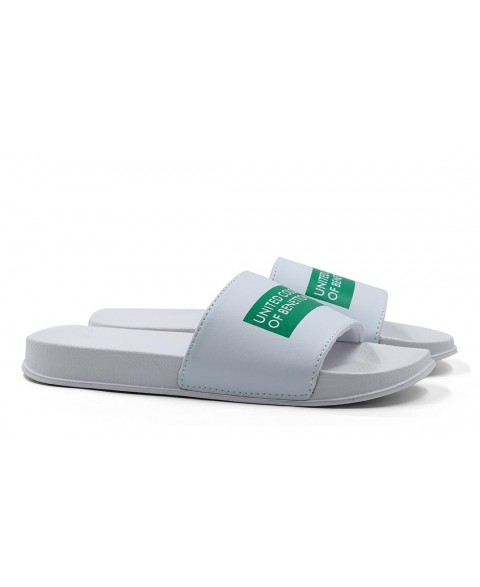 BENETTON RUBB LABEL SLIDERS...