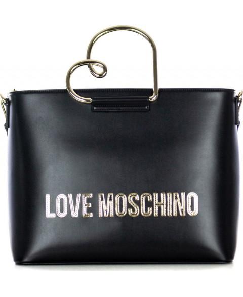 LOVE MOSCHINO BORSA NERO...
