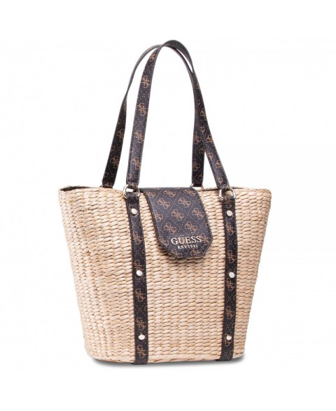 GUESS PALOMA SHOPPER BROWN...