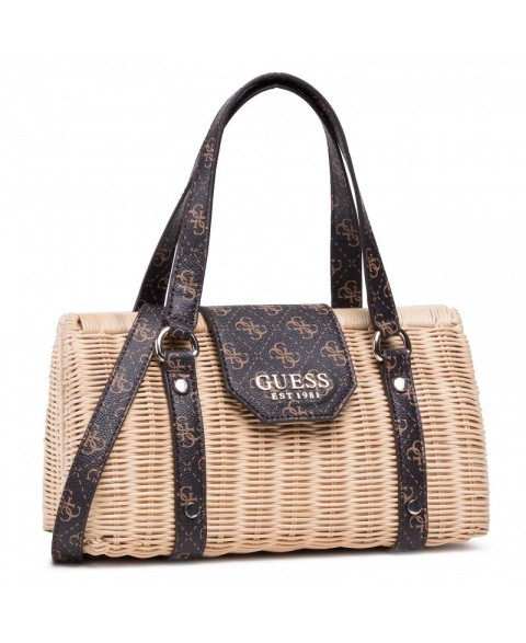 GUESS PALOMA HANDBAG BROWN...