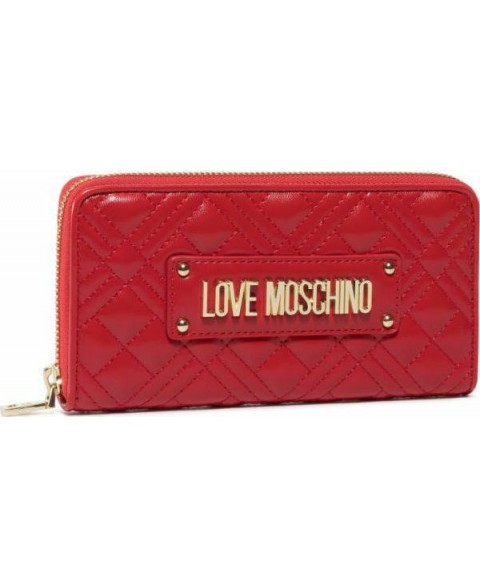 LOVE MOSCHINO QUILTED ZIP...