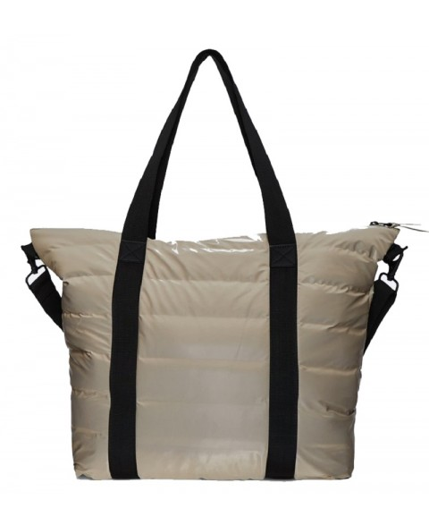 RAINS TOTE BAG QUILTED...