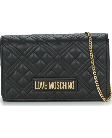 LOVE MOSCHINO QUILTED BLACK...