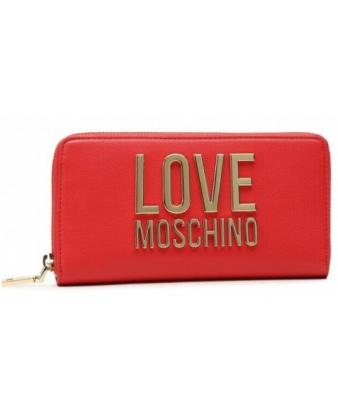 LOVE MOSCHINO RED WALLET...