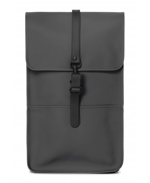 RAINS BACKPACK CHARCOAL...