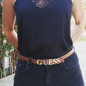 Ένα απλό outfit μπορεί να απογειωθεί με μια ζώνη 🥰🥰 Ζώνη Guess σε ταμπά χρώμα με χρυσό το λογότυπο της εταιρείας. Shop 👉www.pelina.gr #guessbymarciano #guessbags #guessbelt #newcollection2020 #pelinaaccessories #fashionista #instafashion #accesories