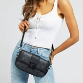 Guess new collection SS21 🎉 Black coal cross body bag and shoulder bag❤️ #guessaccessories #guessbymarciano #guessbags #pelinaaccessories #crossbodybag #shoulderbag #newcollection