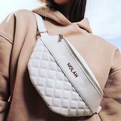 Nolah Kourtney White. Φορέστε τη χιαστί στο στήθος ή σαν τσάντα μέσης. Φυσικά το αποτέλεσμα εντυπωσιακό! . . . #nolahbags #nolahgr #beltbag #crossbodybag #whitebag #pelinaaccessories #newcollection #bagstyle #bags #bagslover